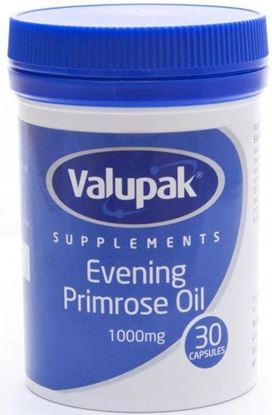 Picture of VALUPAK EVENING PRIMROSE OIL 1000MG