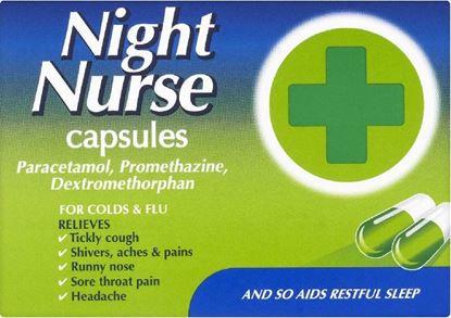 Picture of NIGHT NURSE CAPSULES - 10  CAPSULES