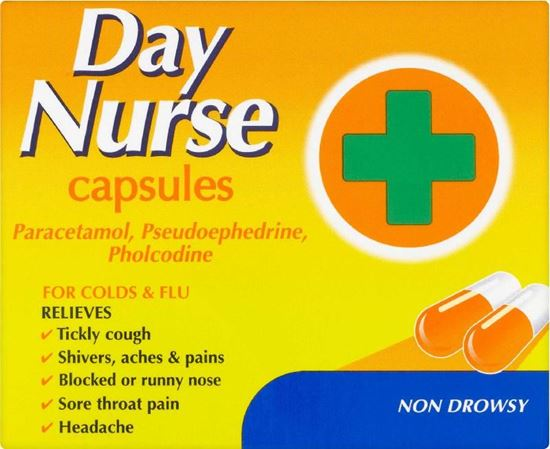 Picture of DAY NURSE CAP 20 CAPSULES