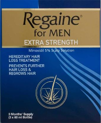 Picture of REGAINE EXTRA STRENGTH 3X60ML