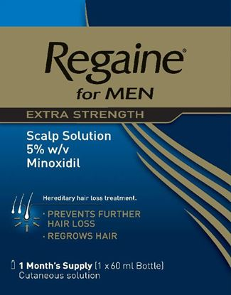 Picture of REGAINE EXTRA STRENGTH 5% SOLUTION - 60ML