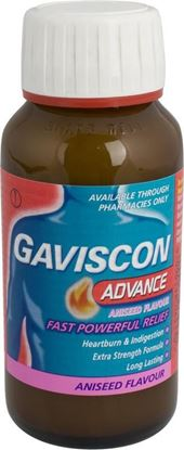 Picture of GAVISCON ADVANCE LIQUID ANISEED- 150ML