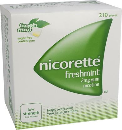 Picture of NICORETTE FRESHMINT GUM 2MG
