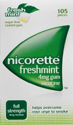 Picture of NICORETTE FRESHMINT GUM 4MG