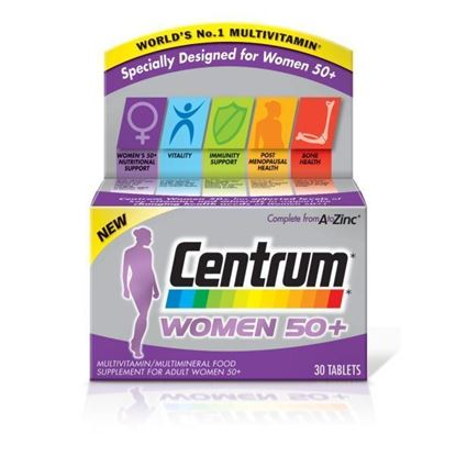 Picture of CENTRUM 50+ WOMENS 30 TABLETS