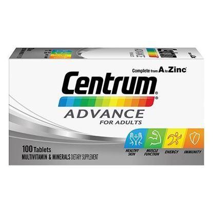 Picture of CENTRUM ADVANCE 100 TABLETS