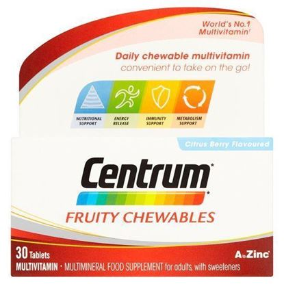 Picture of CENTRUM FRUITY CHEWABLES