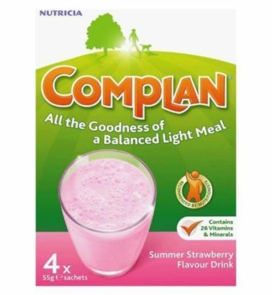 Picture of COMPLAN STRAWBERRY 4X55G