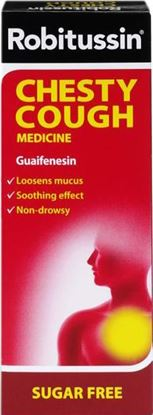 Picture of ROBITUSSIN EXPECTORANT CHESTY- 100ML