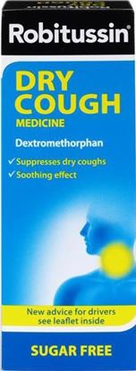 Picture of ROBITUSSIN COUGH SOOTHER DRY- 100ML