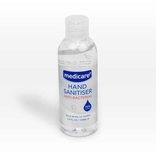 Picture of MEDICARE HAND SANITISER 100ML