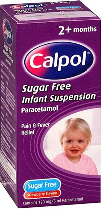 Picture of CALPOL INFANT SUSP S/FREE- 100ML