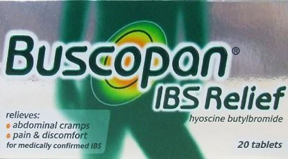 Picture of BUSCOPAN IBS RELIEF 10MG 20 TABLETS