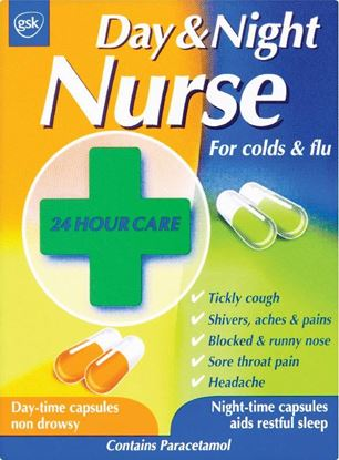 Picture of DAY AND NIGHT NURSE CAPSULES