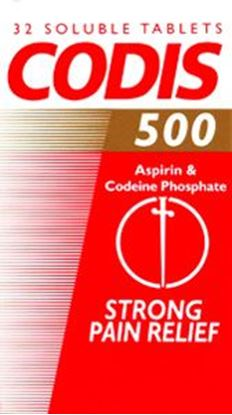 Picture of CODIS TABLETS  - 32 TABLETS
