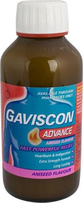 Picture of GAVISCON ADVANCE LIQUID ANISEED-300ML