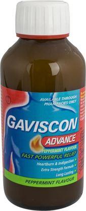 Picture of GAVISCON ADVANCE PEPPERMINT- 300ML