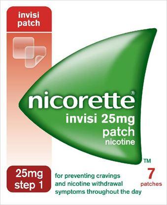 Picture of NICORETTE INVISI PATCH 25MG