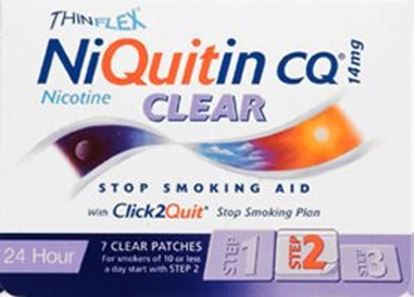 Picture of NIQUITIN CLR PATCH STEP 2 14MG