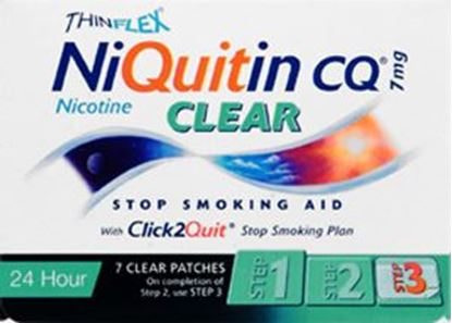 Picture of NIQUITIN CLR PATCH STEP 3 7MG
