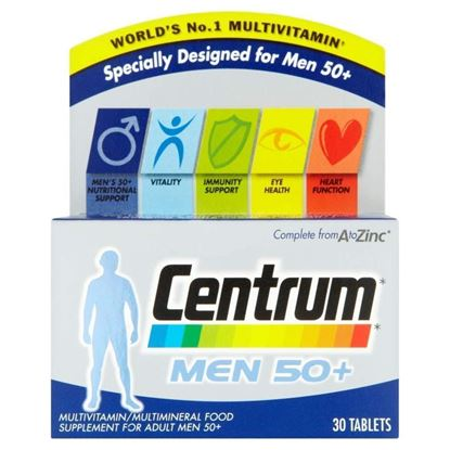 Picture of CENTRUM 50+ MENS 30 TABLETS