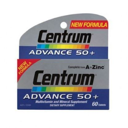 Picture of CENTRUM ADVANCE 50+ 60 TABLETS