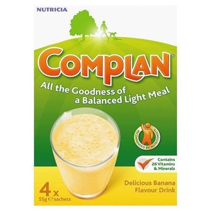 Picture of COMPLAN BANANA 4X55G