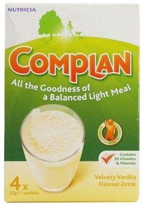 Picture of COMPLAN VANILLA 4X55G