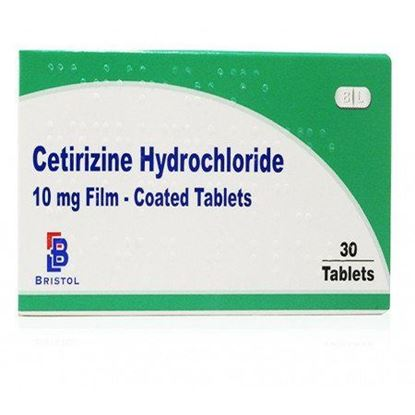 Picture of CETIRIZINE  ALLERGY AND HAYFEVER TABLETS 30S