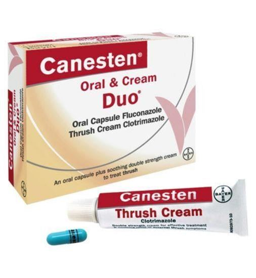 Picture of CANESTEN DUO - ORAL CAPSULE AND CREAM