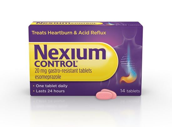 Picture of NEXIUM CONTROL - 14 TABLETS