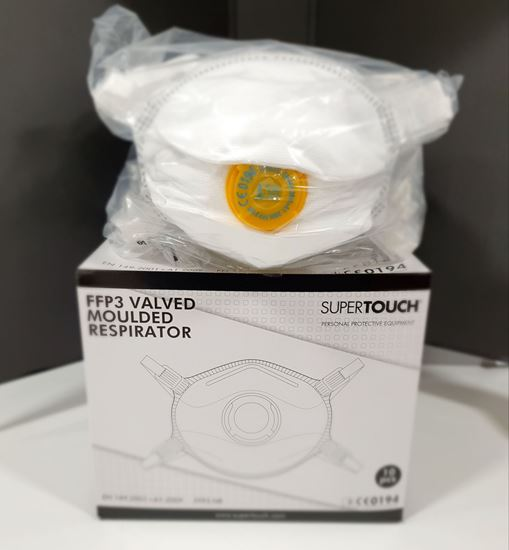 Picture of FFP3 (N95/N99) valved Respirator Mask - Box of 10