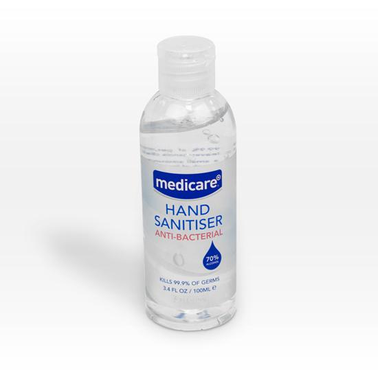 Picture of MEDICARE HAND SANITISER 100ML